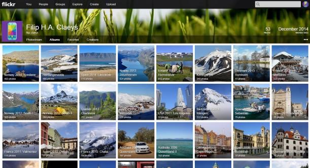 Flickr photo site